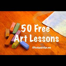 Simple Free Art Lessons For Kids 50 Free Art Lessons At Hodgepodge - Hodgep