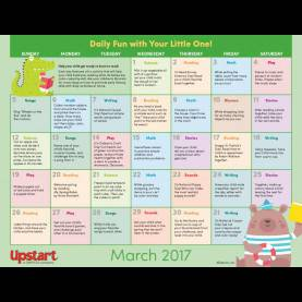Simple Fun Literacy Lessons Early Literacy Activity Calendar: March