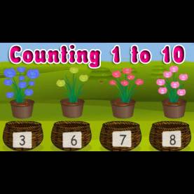 Simple How To Teach Numbers To Kindergarten Learning Numbers From 1 To 10, Elementary Counting Fo
