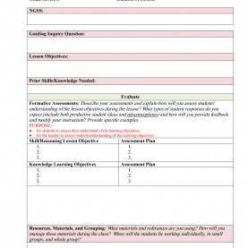 Simple Lesson Plan Assessment And Evaluation 44 Free Lesson Plan Templates [Common Core, Preschool, Wee