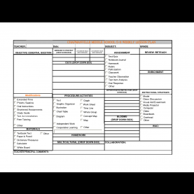 Simple Lesson Plan Template Uk Secondary Free Lesson Plan Format Restaurant General Manager Cover Le