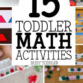 Simple Math And Science For Toddlers 15 Toddler Math Activities - Busy Tod