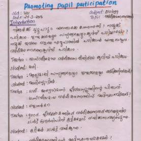 Simple Microteaching Lesson Plan For Biological Science Arsha Natural Science: Microteaching Lesson