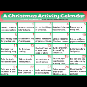 Special Christmas Lesson Plans For Preschoolers Christmas Time Activities €? Fun For Chris