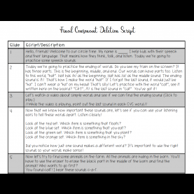 Special Circle Time Lesson Plans Circle Time Lesson Plans For Phonological Processes - Speech Room
