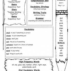 Special Comprehension Lesson Plans 4Th Grade McGraw-Hill Wonders Second Grade Resources And Printout