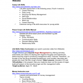 Special Daily Living Skills Lesson Plans Worksheets For All | Download And Share Worksheets | Free O