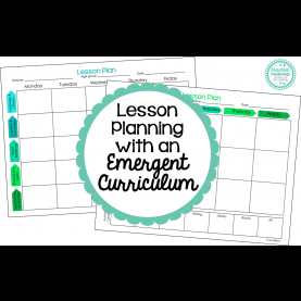 Special Emergent Curriculum Preschool Lesson Plans Preschool Ponderings: Lesson Planning With An Emergent Curric