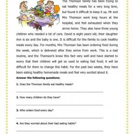 Special Esl Reading Lesson Plans For Elementary Students 20 Free Esl Lifestyle Worksh