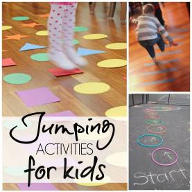 Special Fun Activities For Preschoolers 10 Jumping Activities For Kids - The Realistic