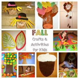 Special Fun Fall Crafts For Kindergarten Mom To 2 Posh Lil Divas: Fun Fall Crafts And Learning Activitie