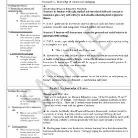 Special How To Make A Lesson Plan In Physical Education Physical Education Lesson Plan Template Newfangled Photograph 1