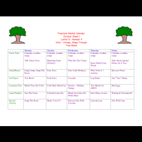 Special Infant Toddler Curriculum Themes Toddler Lesson Plans For October | Preschool Weekly Calenda