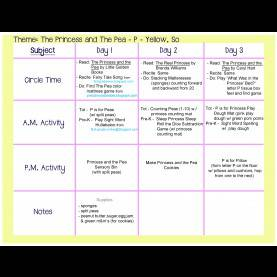 Special Lesson Plan On Circles For Preschool Princess-And-The-Pea-Lesson-Plan.Jpg 3,300×2,550 Pixels | Schoo