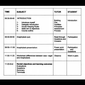 Special Lesson Plan Template Early Years İsimsiz €? Lesson