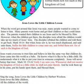 Special Lessons For Kids Exciting Sunday School Lessons For Toddlers Free Jesus Love