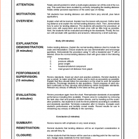 Special Obe Format Lesson Plan Sample Lesson Plan Template Format Elegant Gallery Plans Fo
