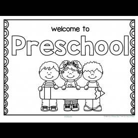 Special Pre K Lesson Plans Back To School Free*** Back To School Welcome Poster For Preschool - Writ