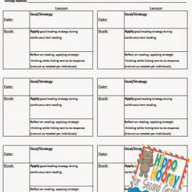 Special Reading Lesson Plan For 2Nd Grade Guided Reading Lesson Planning And Note Taking - Hippo Hooray Fo