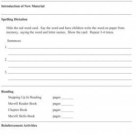 Special Repeated Reading Lesson Plan Free Downloads | Paf Pro