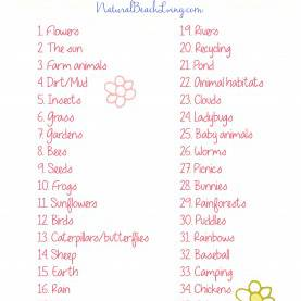Special Thematic Lesson Plan For Kindergarten 35+ The Best Spring Preschool Themes And Lesson Plans - Natura
