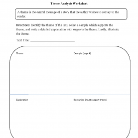 Special Theme Activities For 3Rd Grade Englishlinx.Com | Theme Worksh