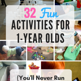 Special Things To Teach A 2 Year Old 32 Fun Activities For 1-Year Olds (You'Ll Never Run Out Of Thing