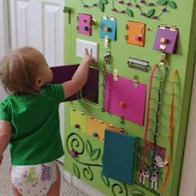 Top Babies Activities In Daycare Sensory Boards!! ~ Unique Diy Sensory Board Ideas For Toddler