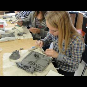 Top Clay Art Projects For High School Art Of Apex High School: Clay Tile Reliefs In Hand Building S