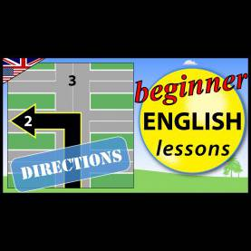 Top English Lessons For Children Directions In English | Beginner English Lessons For Childre