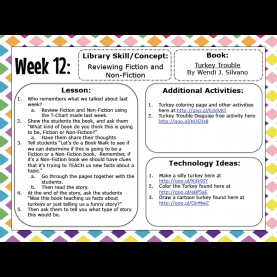 Top Kinder 1 Lesson Great Collection Of Library Lessons For Kinder!   Library Idea