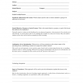 Top Lesson Plan Template History Sample Lesson Plan Template - Targer.Golden-Drago