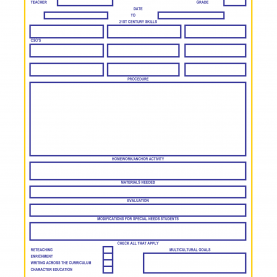 Top Lesson Plan Template Language Art Lesson Plan Templates Below Is A Template Rubric Englis
