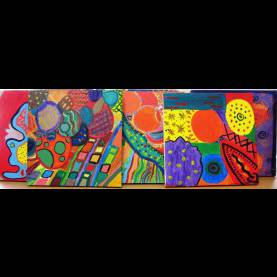 Top Quick Art Lessons For Middle School Gorgeous Abstract Art In Grade Seven | Alejandra Ch