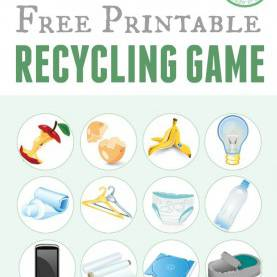 Top Recycling Lesson Plans For Toddlers Printable Recycling Game   Recycling Games, Free Printable And E