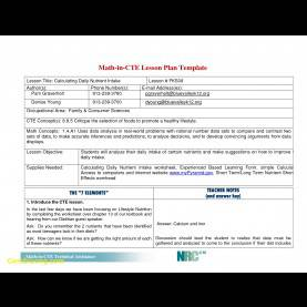 Top Unit Plan Example Elementary Inspirational Simple Lesson Plan Template | Best Templ