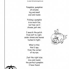Trending English Lesson Plan Reading Comprehension Pumpkins Lesson Plans, Themes, Printouts, Crafts And Cli