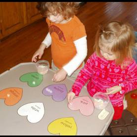 Trending How To Teach Colours To 3 Year Olds Little Stars Learning: Color Hearts Sor
