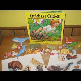 Trending Lesson Plans For The Book Quick As A Cricket Quick As A Cricket Le