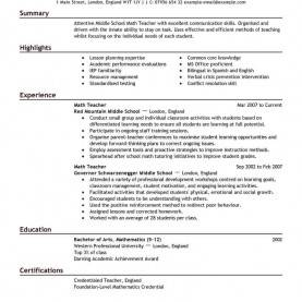 Trending On Task Focusing Prompts Examples Best Teacher Resume Example | Liveca