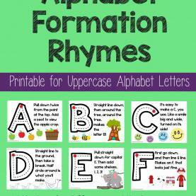 Trending Rhyming Lesson Plans Number Formation Rhymes - Teaching