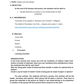 Trending Semi Detailed Lesson Plan In Science Grade 5 Detailed Lesson Plan In Chemistry - Bloguti