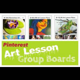 Typical Art Lesson Plans 9-12 Join Pinterest Art Lesson Group Boards - Create Art Wit