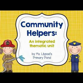 Typical Community Helpers Unit Community Helpers Unit - Learning At The Primary