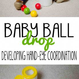 Typical Daycare Activities For Babies Baby Ball Drop | Simple Diy, Activities And P