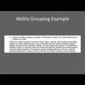 Typical Edtpa Context For Learning Example Context For Learning For Edtpa - You