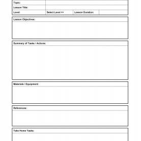 Typical Example Of Lesson Plan For English Subject 44 Free Lesson Plan Templates [Common Core, Preschool, Wee