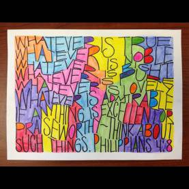 Typical Fun Art Projects For Middle School Calligraphy   Teachkid