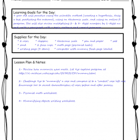 Typical How To Make A Lesson Plan For 3 Year Olds How To Design A Stem Homeschool Curriculum | Preschool Powol Pac