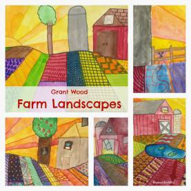 Typical Landscape Lesson Plans Elementary Beyond Roy G. Biv: Free Lesson Plan #5: The Farm At Sun